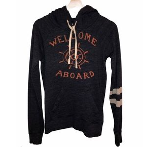 Sundry, Welcome Aboard Hoodie, Size 1